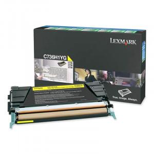 C736H1YG Toner Original Lexmark  Com Garantia de Originalidade e Melhor Preço – TonerPlus.com.br