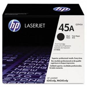 Toner Impressora HP M4345 - Q5945A - 45A –Preto- Original HP para 4345 - TonerPlus.com.br
