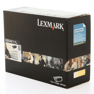 X654X11L / X654X11B – Toner Lexmark Original para X654