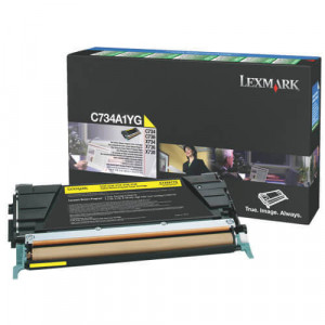 C734A1YG – Toner Lexmark Original para C734