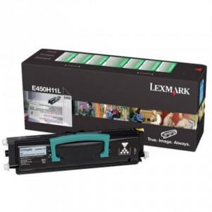 E450H11L / E450H11B – Toner Lexmark Original para E450