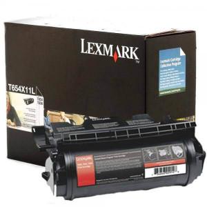 Toner Lex T654 - T654X11L / T654X11B – Toner Lexmark Original para T654 -Preto- TonerPlus.com.br